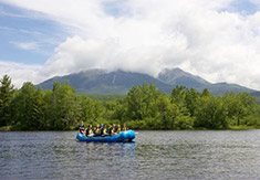 Katahdin Shines in the backdrop