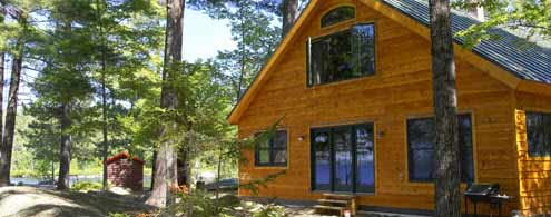 Cabin at NEOC