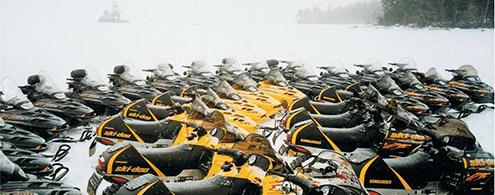 Snowmobile fleet