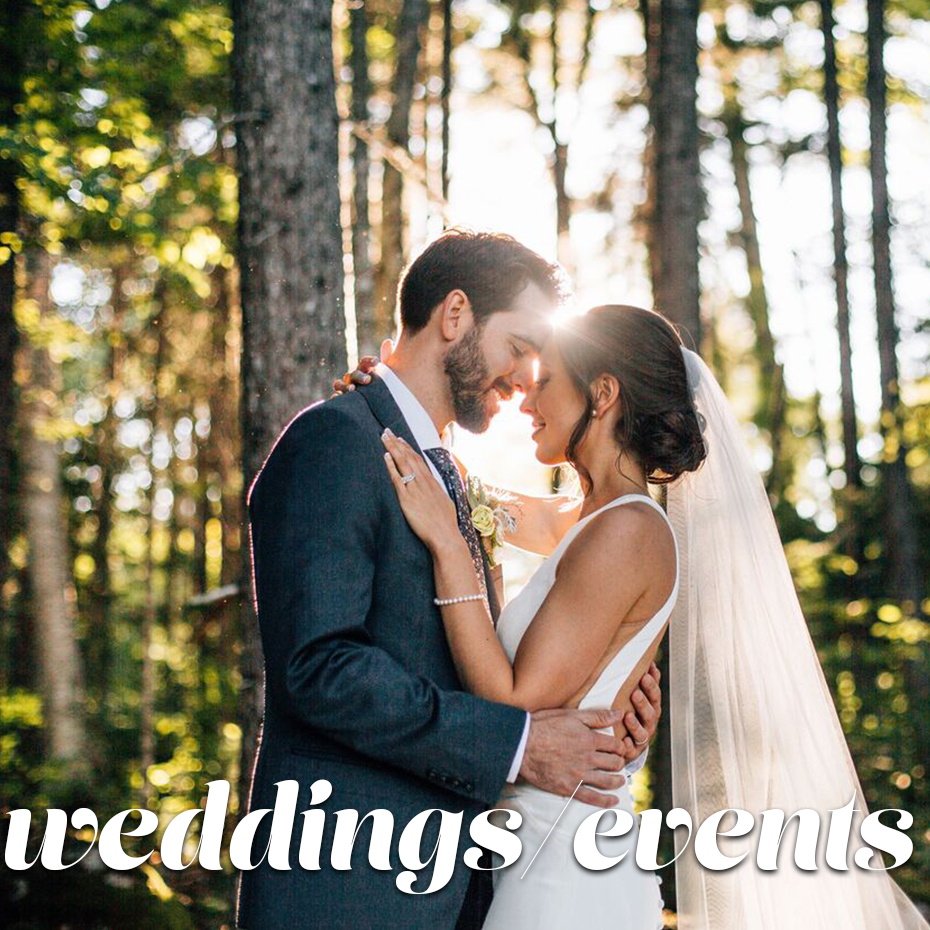weddings:events